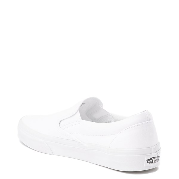 alternate view Vans Slip On Skate Shoe - WhiteALT3