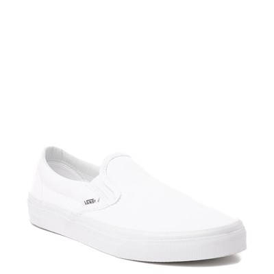 Alternate view of White Vans Slip On Skate Shoe