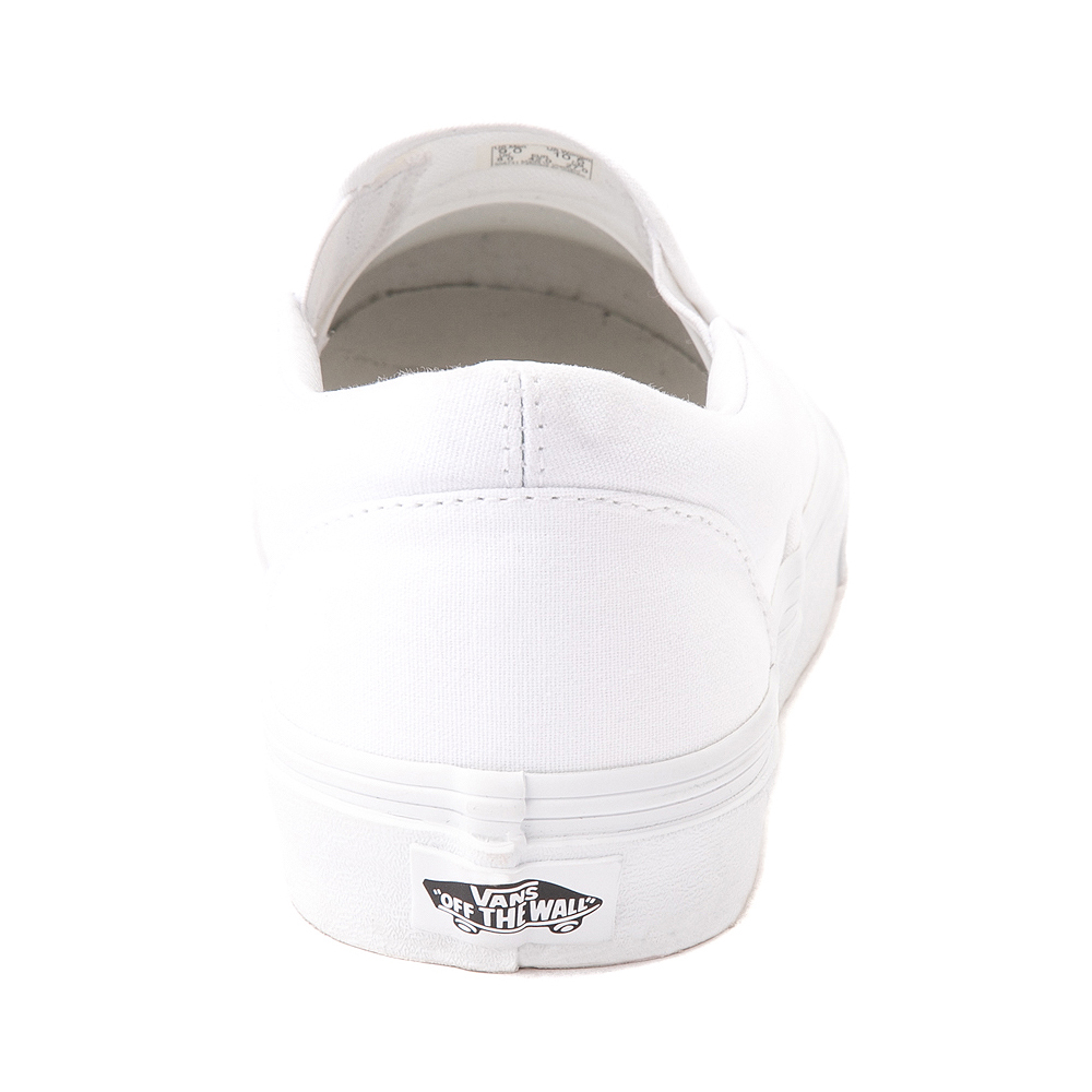 Vans Slip On Skate Shoe - White | Journeys