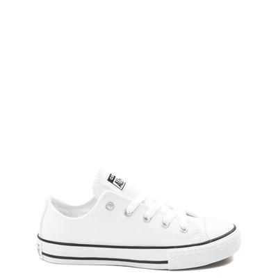 Main view of Converse Chuck Taylor All Star Lo Leather Sneaker - Little Kid - White