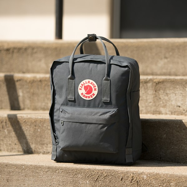alternate view Fjallraven Kanken Backpack - GraphiteALT1B