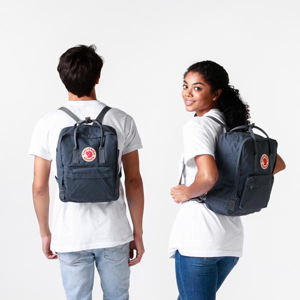 alternate view Fjallraven Kanken Backpack - GraphiteALT1BADULT