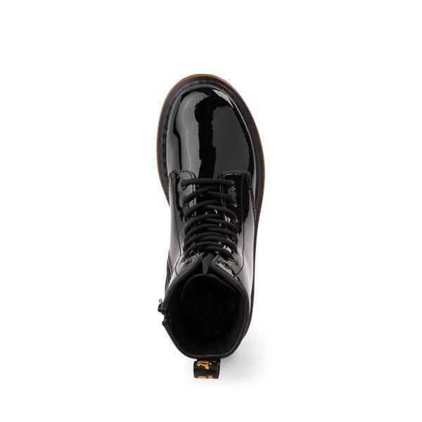 alternate view Dr. Martens 1460 8-Eye Patent Boot - Little Kid - BlackALT2