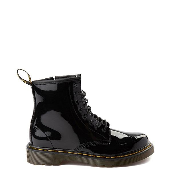 Main view of Dr. Martens 1460 8-Eye Patent Boot - Little Kid - Black