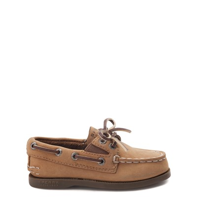 Main view of Sperry Top-Sider Authentic Original Gore Boat Shoe - Toddler / Little Kid - Sahara