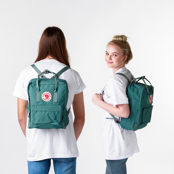 alternate view Fjallraven Kanken Backpack - Frost GreenALT1BADULT