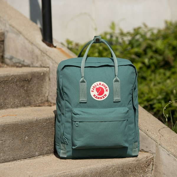 alternate view Fjallraven Kanken Backpack - Frost GreenALT1BB