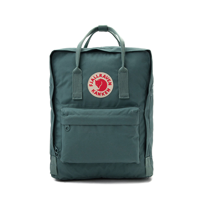 Main view of Fjallraven Kanken Backpack - Frost Green