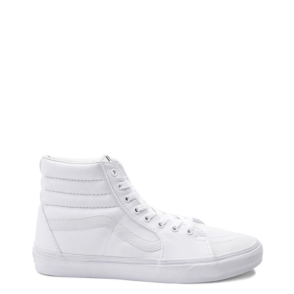 Default view of Vans Sk8 Hi Skate Shoe - White