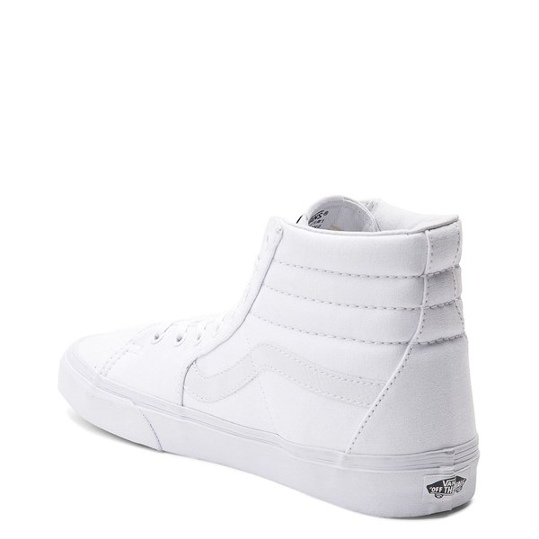 alternate view Vans Sk8 Hi Skate Shoe - WhiteALT2