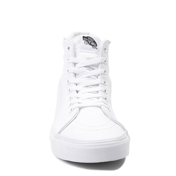 alternate view Vans Sk8 Hi Skate Shoe - WhiteALT4