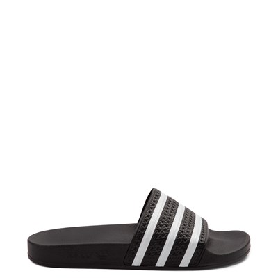 Main view of adidas Adilette Slide Sandal - Black