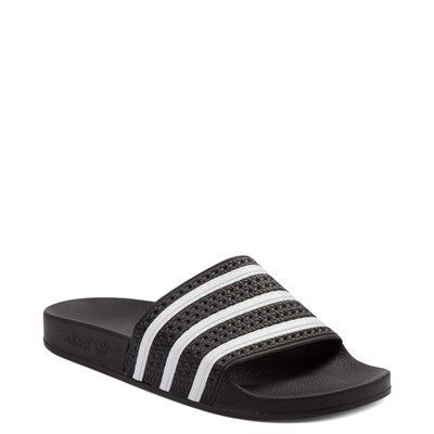 Alternate view of adidas Adilette Slide Sandal - Black