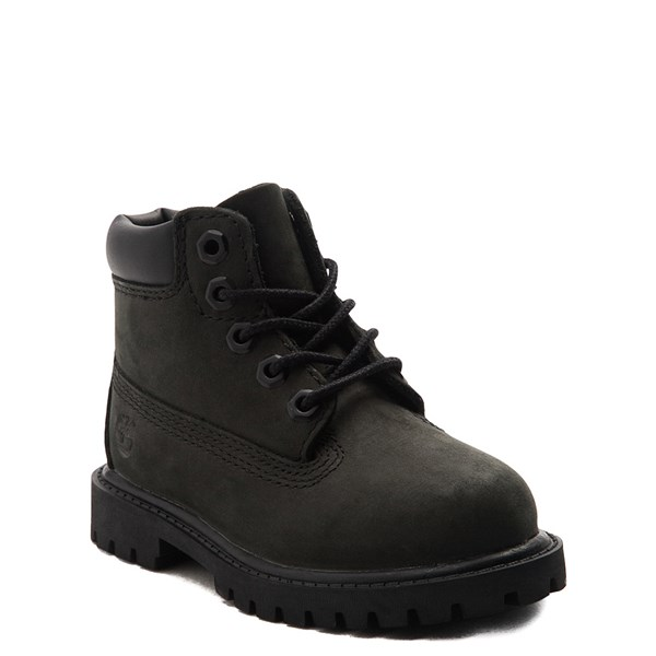 "alternate view Timberland 6"" Classic Boot - Baby / Toddler / Little Kid - BlackALT1"