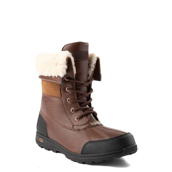 alternate view UGG® Butte II Boot - Little Kid / Big Kid - ChocolateALT1