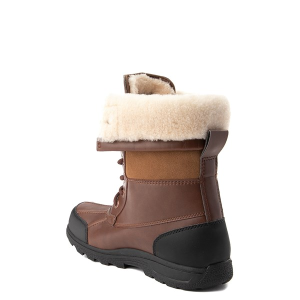 alternate view UGG® Butte II Boot - Little Kid / Big Kid - ChocolateALT2