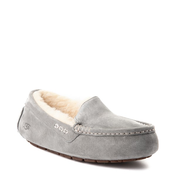 alternate view Womens UGG® Ansley Slipper - GrayALT1