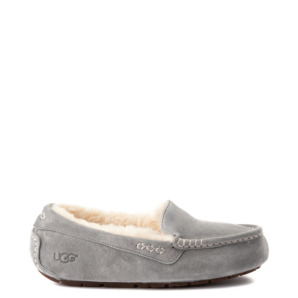 Womens UGG® Ansley Slipper - Gray