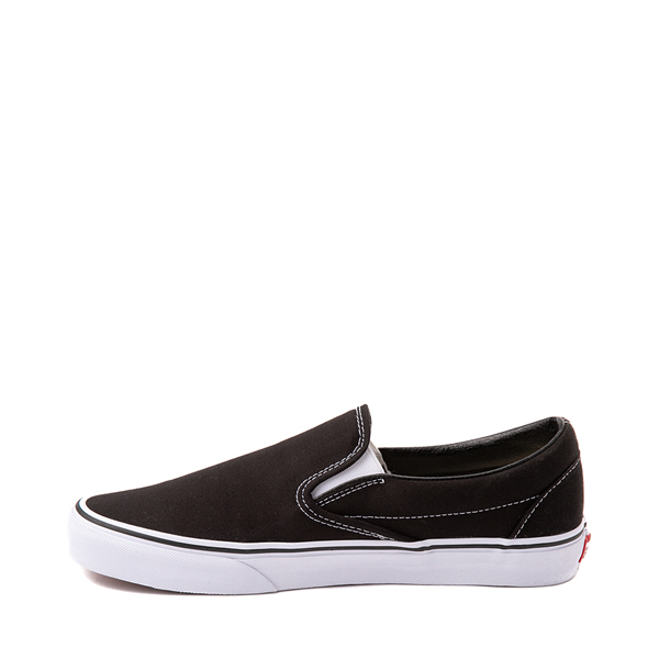 alternate view Vans Slip On Skate Shoe - BlackALT1