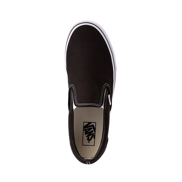 alternate view Vans Slip On Skate Shoe - BlackALT2