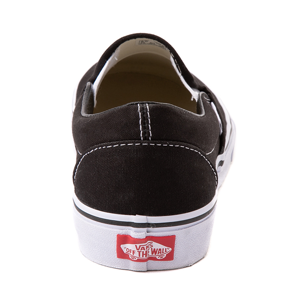 alternate view Vans Slip On Skate Shoe - BlackALT4