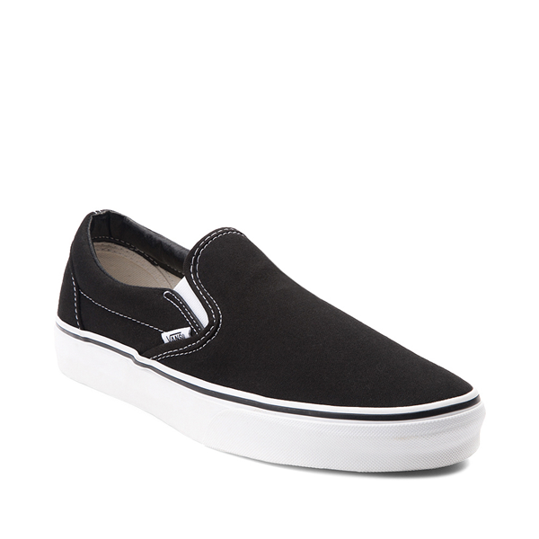 alternate view Vans Slip On Skate Shoe - BlackALT5