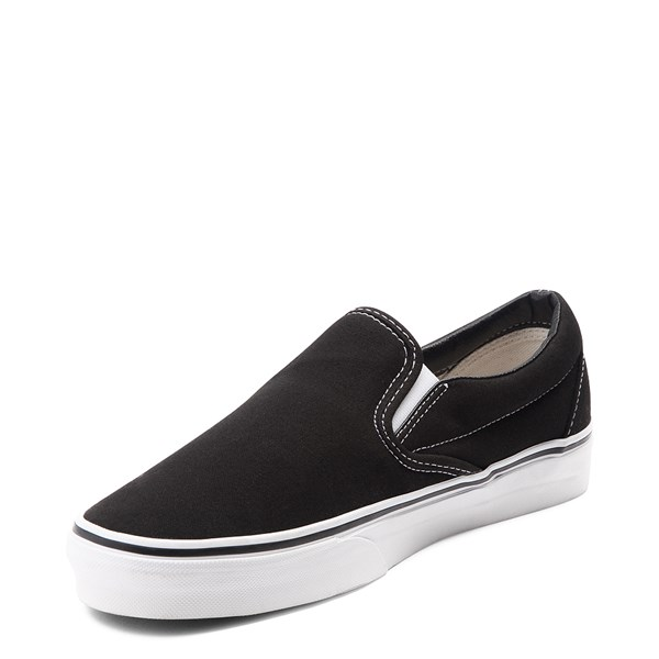 alternate view Vans Slip On Skate Shoe - BlackALT3
