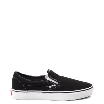 Main view of Black Vans Slip On Skate Shoe