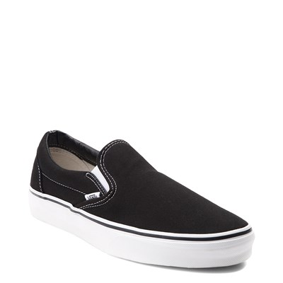 Alternate view of Black Vans Slip On Skate Shoe