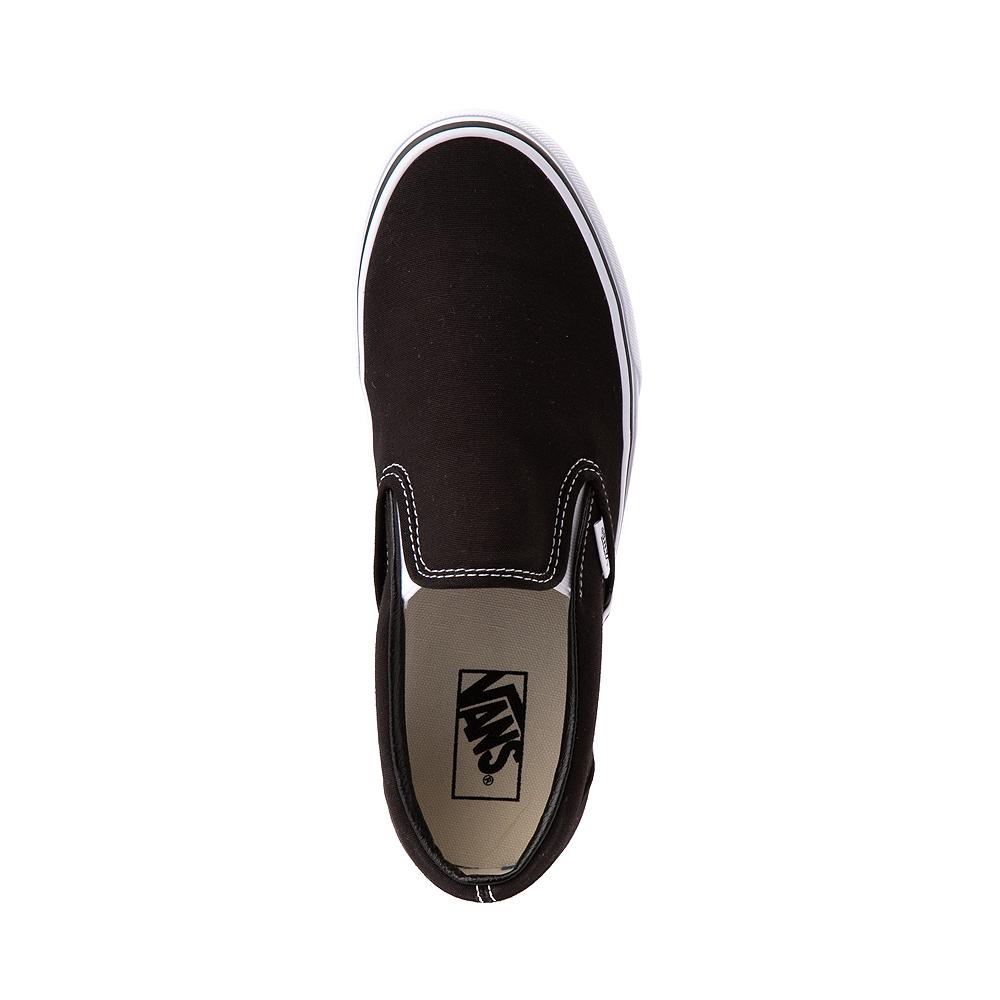 Vans Slip On Skate Shoe - Black | Journeys