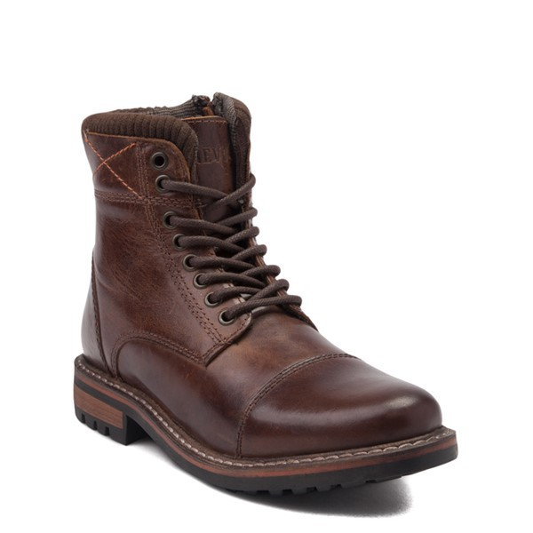 alternate view Mens Crevo Camden Boot - BrownALT5
