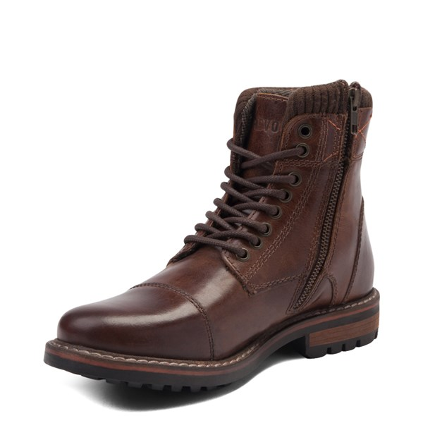 alternate view Mens Crevo Camden Boot - BrownALT3