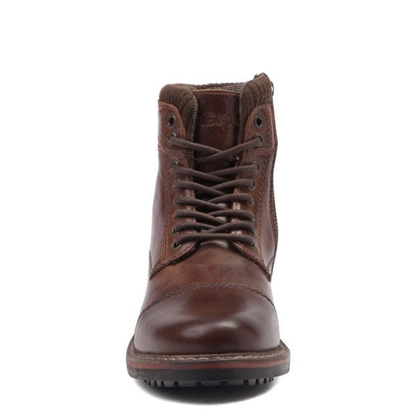 alternate view Mens Crevo Camden Boot - BrownALT4