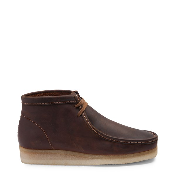 Main view of Mens Clarks Originals Wallabee Chukka Boot - Beeswax