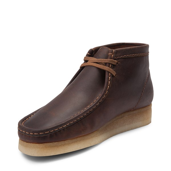 alternate view Mens Clarks Originals Wallabee Chukka Boot - BeeswaxALT3