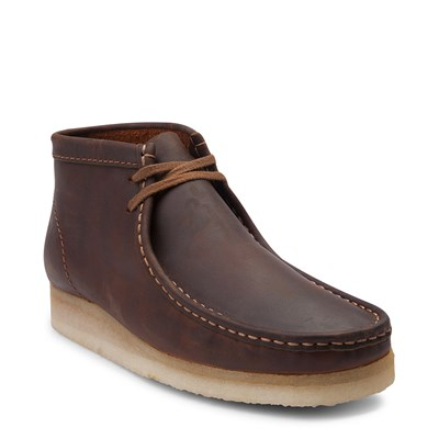 Alternate view of Mens Clarks Originals Wallabee Chukka Boot - Beeswax