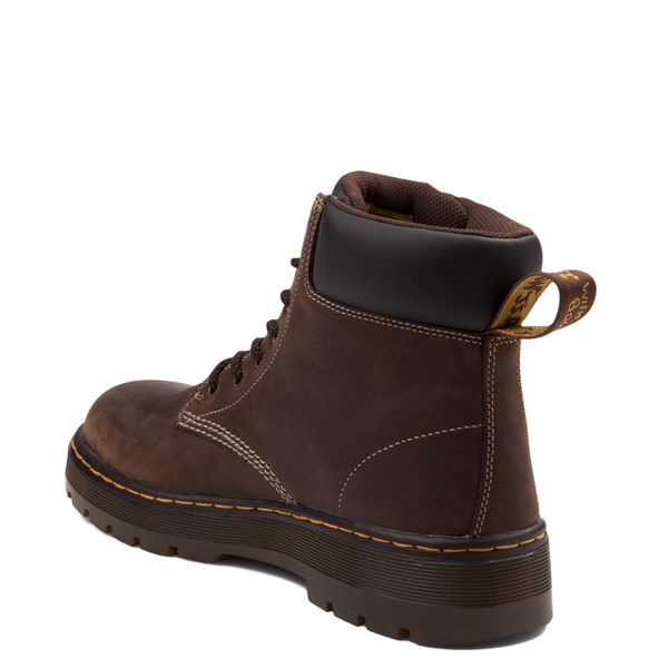 alternate view Mens Dr. Martens Winch OSHA Steel Toe Boot - BrownALT2