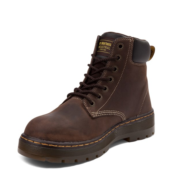 alternate view Mens Dr. Martens Winch OSHA Steel Toe Boot - BrownALT3