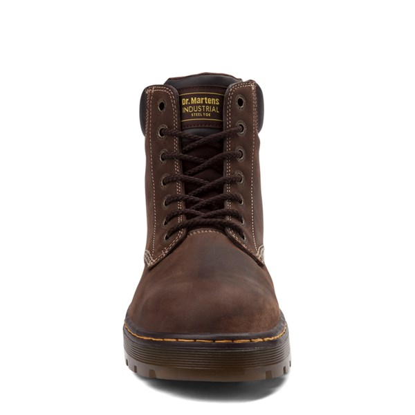 alternate view Mens Dr. Martens Winch OSHA Steel Toe Boot - BrownALT4