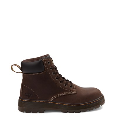 Main view of Mens Dr. Martens Winch OSHA Steel Toe Boot - Brown