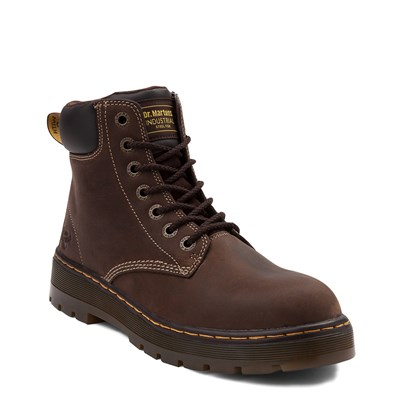 Alternate view of Mens Dr. Martens Winch OSHA Steel Toe Boot - Brown