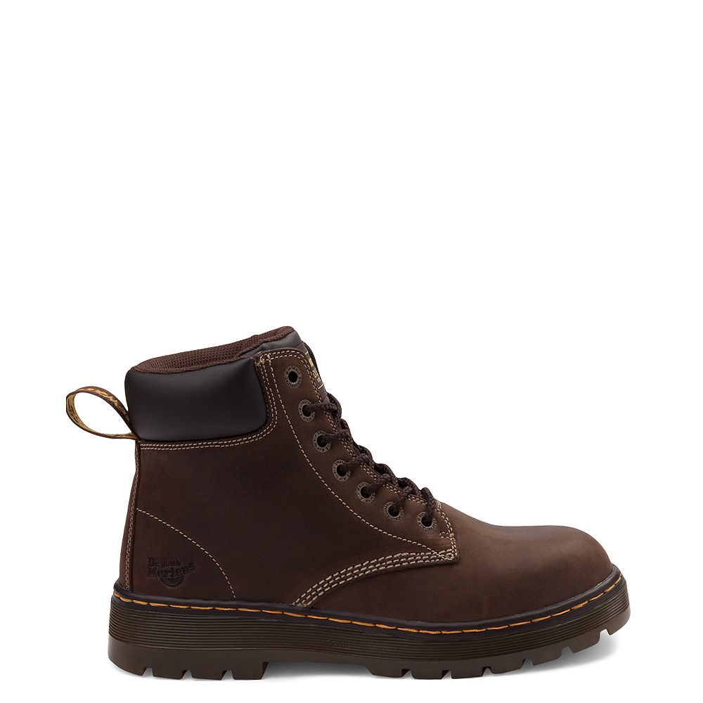 Mens Dr. Martens Winch OSHA Steel Toe Boot - Brown