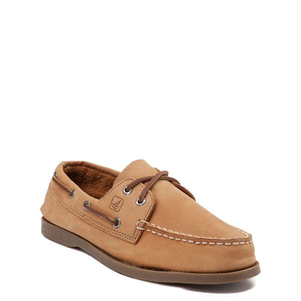 alternate view Sperry Top-Sider Authentic Original Boat Shoe - Big Kid - TanALT1