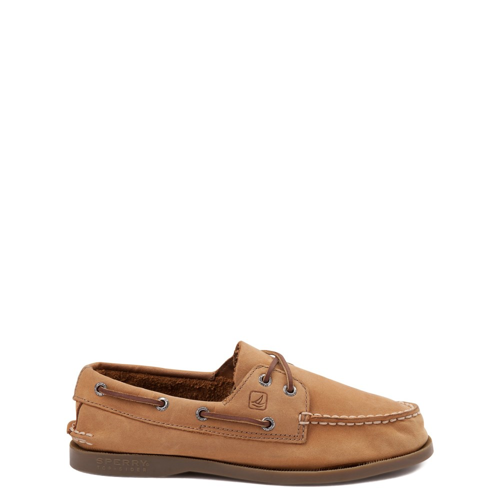 Sperry Top-Sider Authentic Original Boat Shoe - Big Kid - Tan