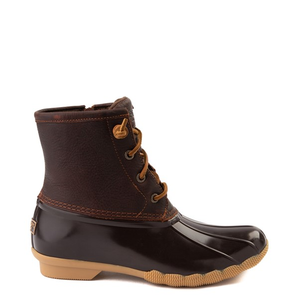 Main view of Womens Sperry Top-Sider Saltwater Boot - Brown