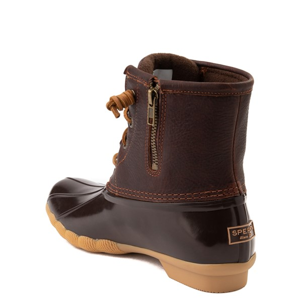 alternate view Womens Sperry Top-Sider Saltwater Boot - BrownALT1