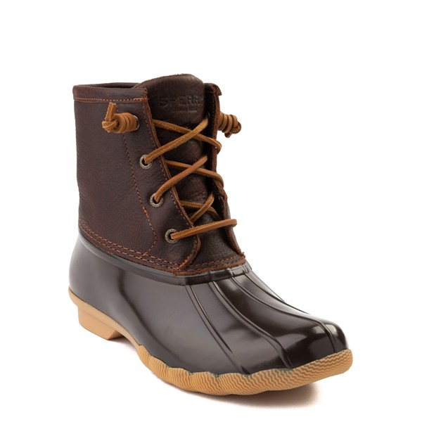 alternate view Womens Sperry Top-Sider Saltwater Boot - BrownALT5