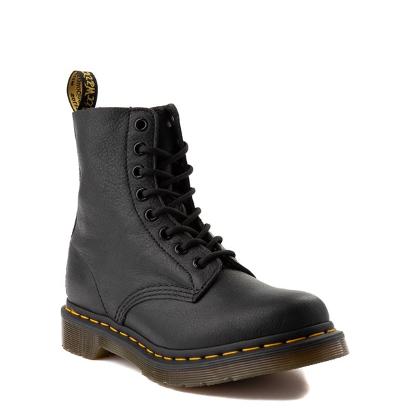 alternate view Womens Dr. Martens 1460 Pascal 8-Eye Boot - BlackALT1