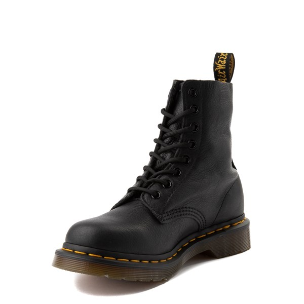 alternate view Womens Dr. Martens 1460 Pascal 8-Eye Boot - BlackALT3