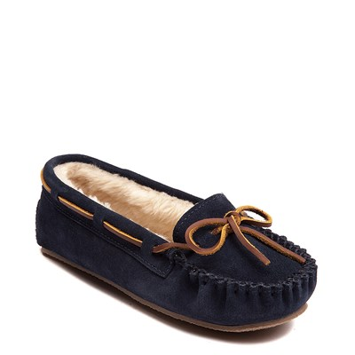 Alternate view of Womens Minnetonka Cally Casual Shoe - Blue